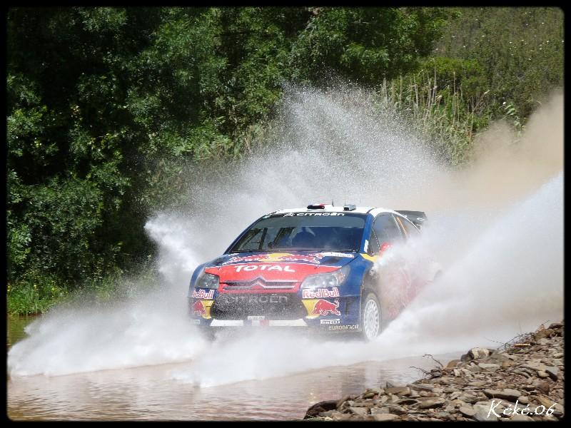Sébastien Loeb au rallye du Portugal 2010